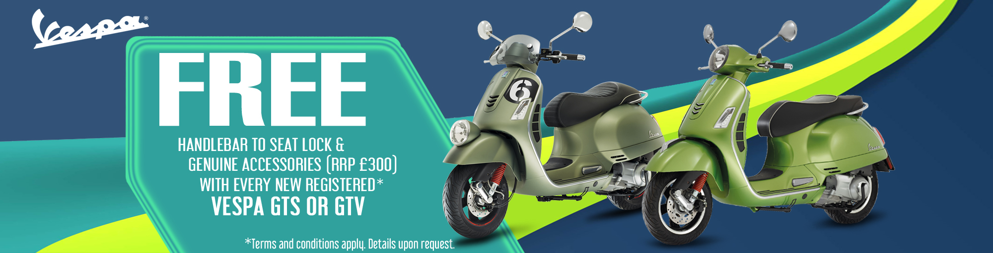 Vespa accessories special offer