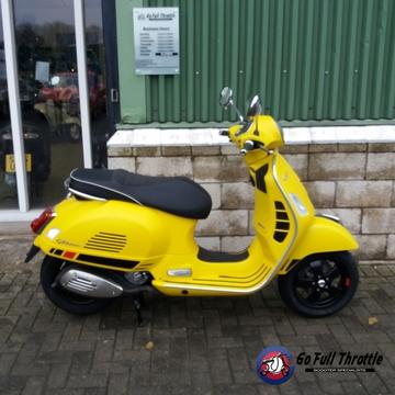 GTS Super sport yellow