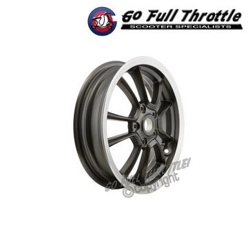 dark grey wheel