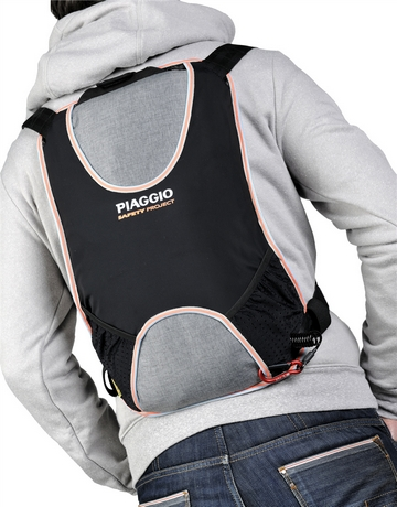 Airbag backpack