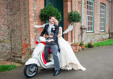 That Feeling When Your Wife Buys You a Vespa for a Wedding Present