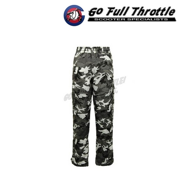 NEW - Army Camouflage Combat Fleece Lined Thermal Trousers