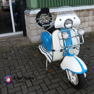 Just in - Lambretta Li 150 Series 2 Spanish model 1962 - REGISTERED AS 125cc