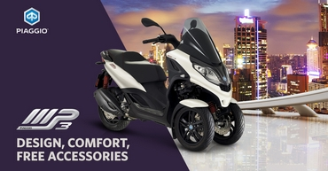 Piaggio MP3 Accessories Offer