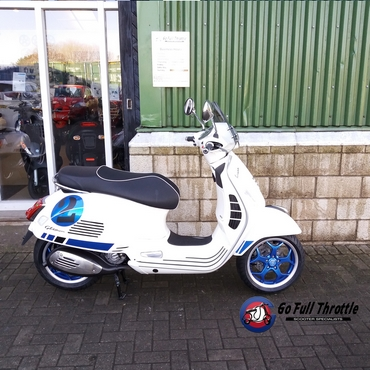 Special Offer - Go Full Throttle Speciale Serie no. 2 Vespa GTS 300 Super