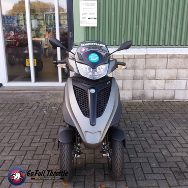 Now Available - Piaggio MP3 Yourban 300cc LT Ex demonstrator 2018