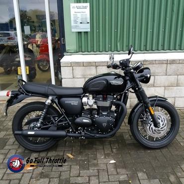 Pre loved Triumph Bonneville T120 1200cc
