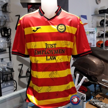 Partick Thistle Signed Football Top Auction - Charity Open Day on Sunday 14th April 2019