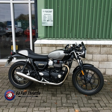 Just in - Pre loved Triumph Street Cup 900cc, 2017
