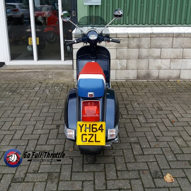 Pre loved Vespa PX 125cc MY11, 2014 - learner Legal - SOLD