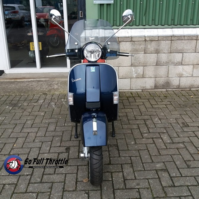 Used Bikes - Pre loved Vespa PX 125cc MY11, 2014 - learner