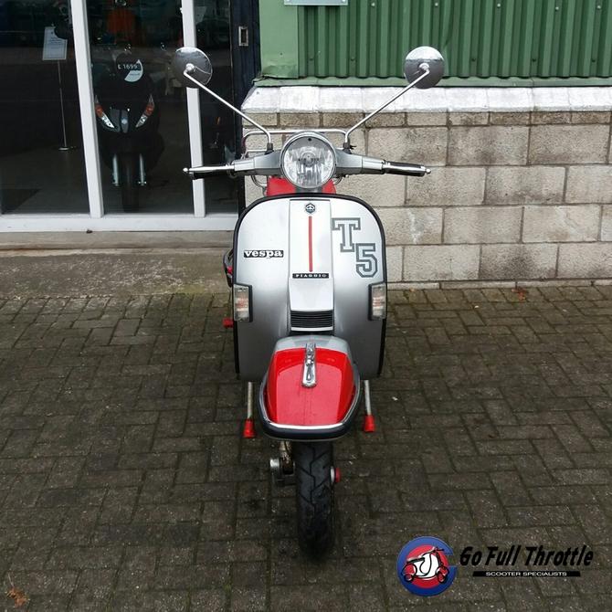 Preloved Vespa T5 125 cc 1997