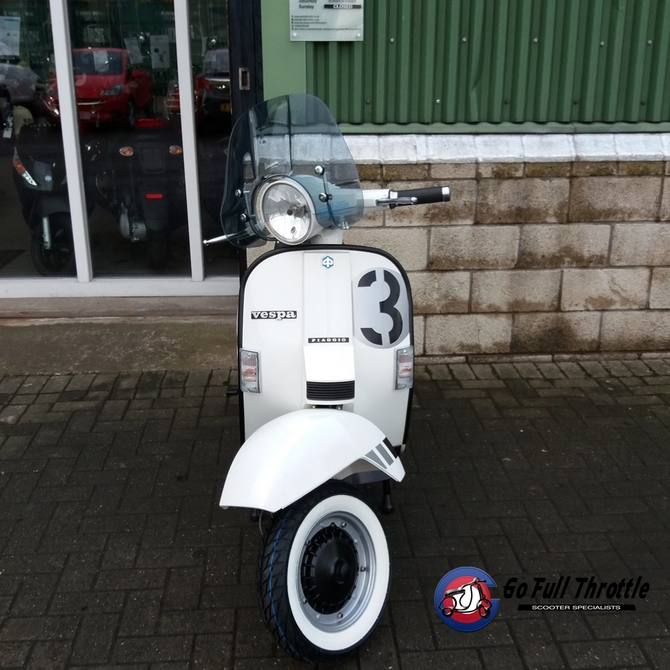 Fully Restored Go Full Throttle Speciale Serie # 3 Vespa T5 Classic - SOLD