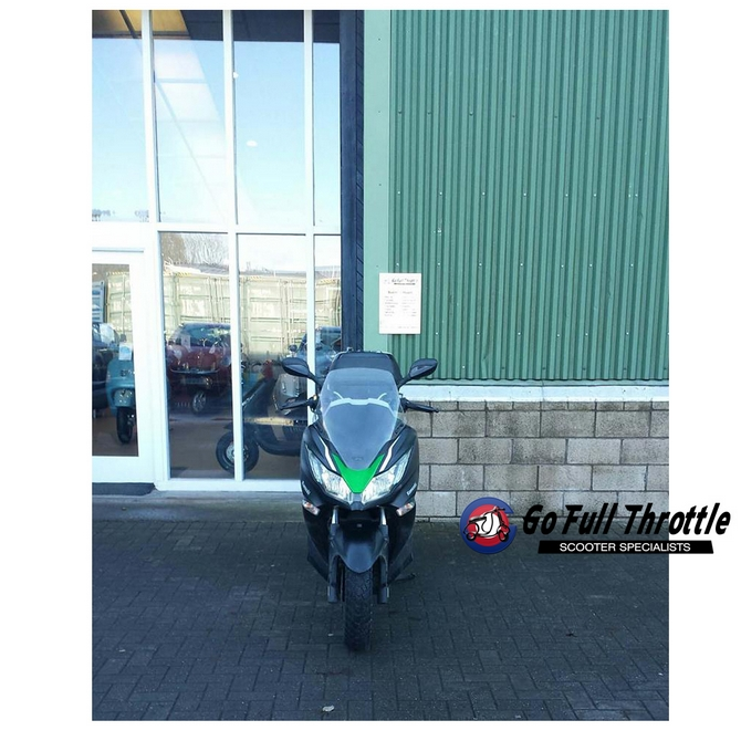Pre loved Kawasaki J300 ABS SC300 BEFA maxi scooter 2014