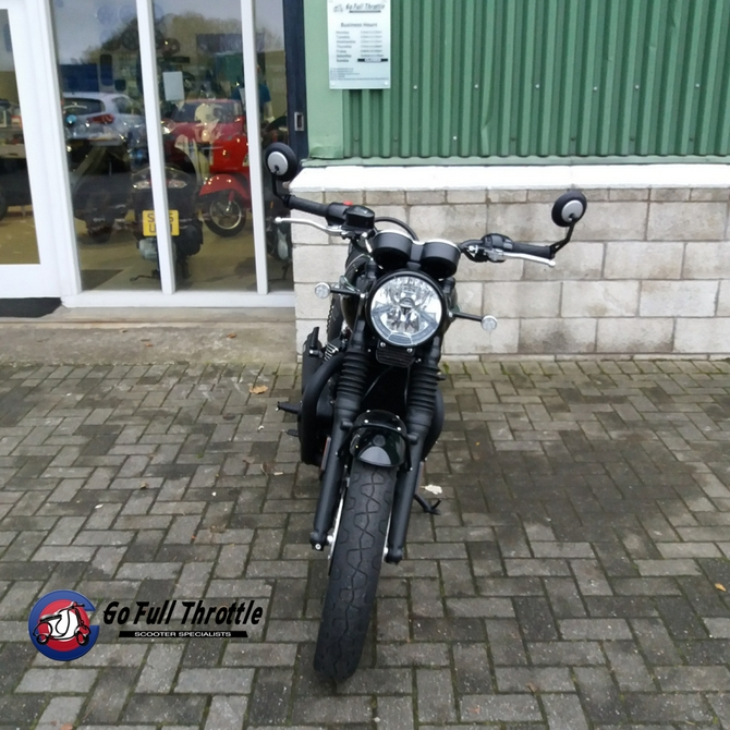 Just in - Pre loved Triumph Bonneville T120 1200cc, 2017 - SOLD