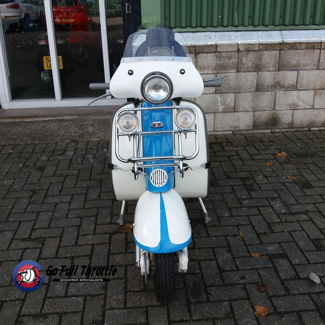 Lambretta Li 150 Series 2 Spanish model 1962 - SOLD