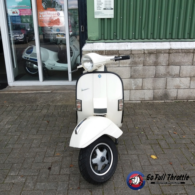 Just in - Pre Loved Vespa T5 Millennium 125cc Limited Edition - Learner Legal