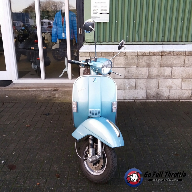 Just In - Pre loved Vespa PX 125cc 70th Anniversary 2016 - SOLD